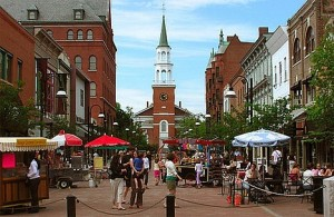 Church Street, Burlington Vermont